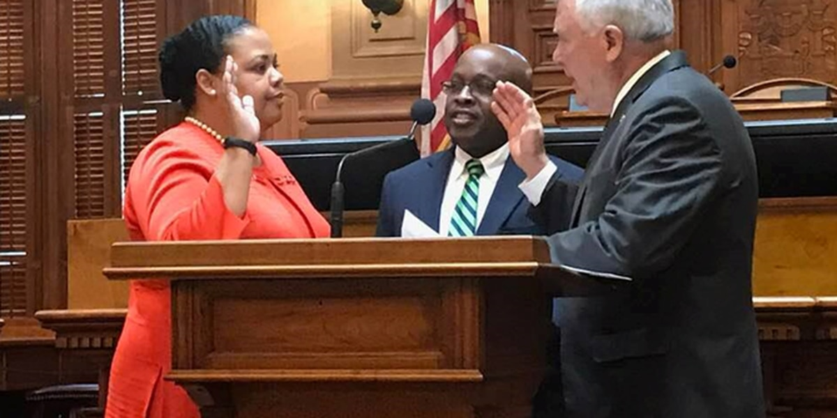 Darrisaw sworn in to Dougherty Judicial Circuit