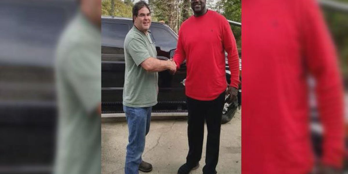 Lowndes Co. business gets visit from Shaq