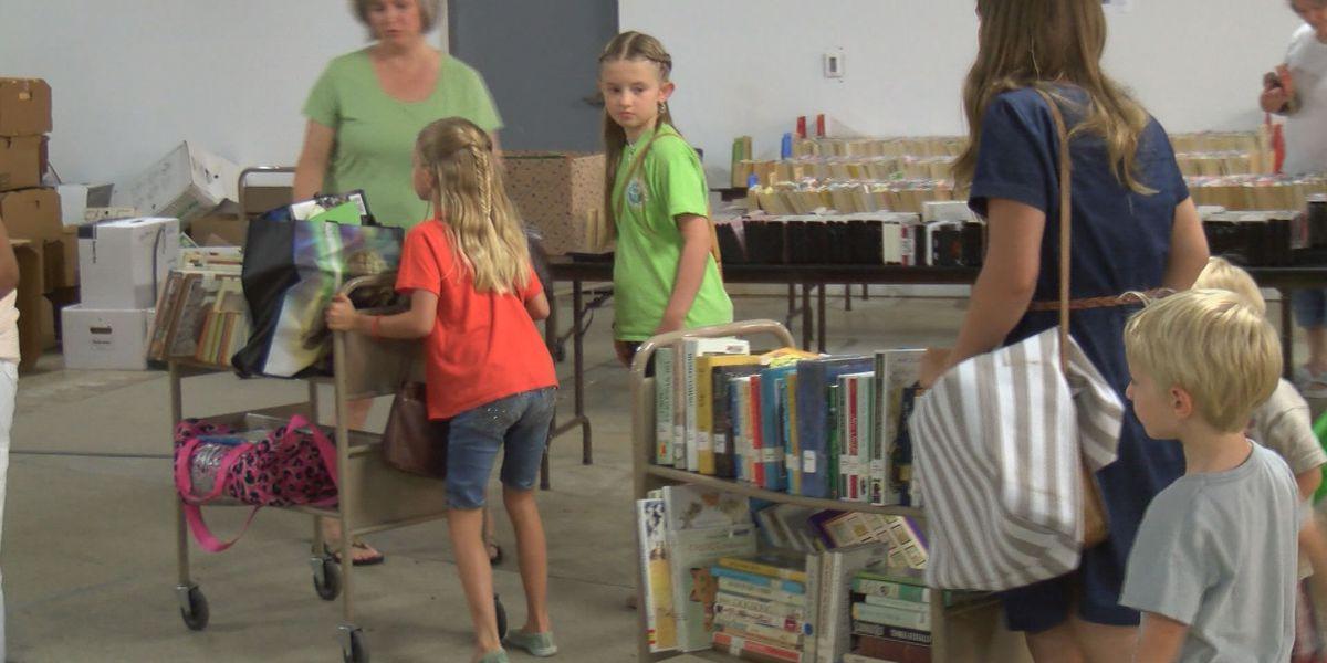 The Northwest Library is liquidating books all summer
