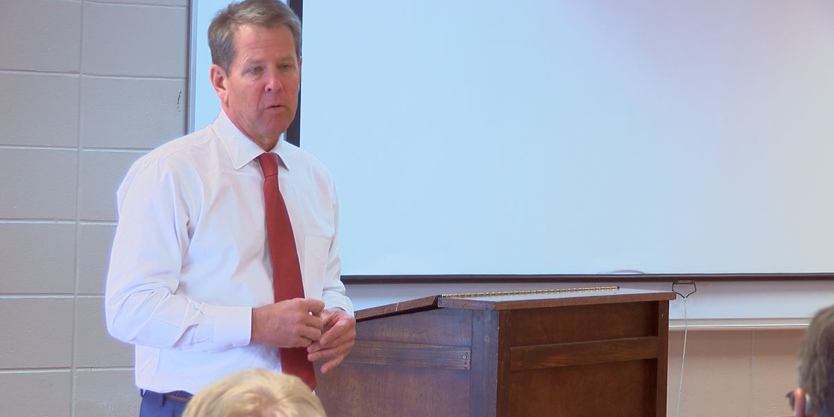 Gov. Kemp talks relief funding and more to farmers in Bainbridge