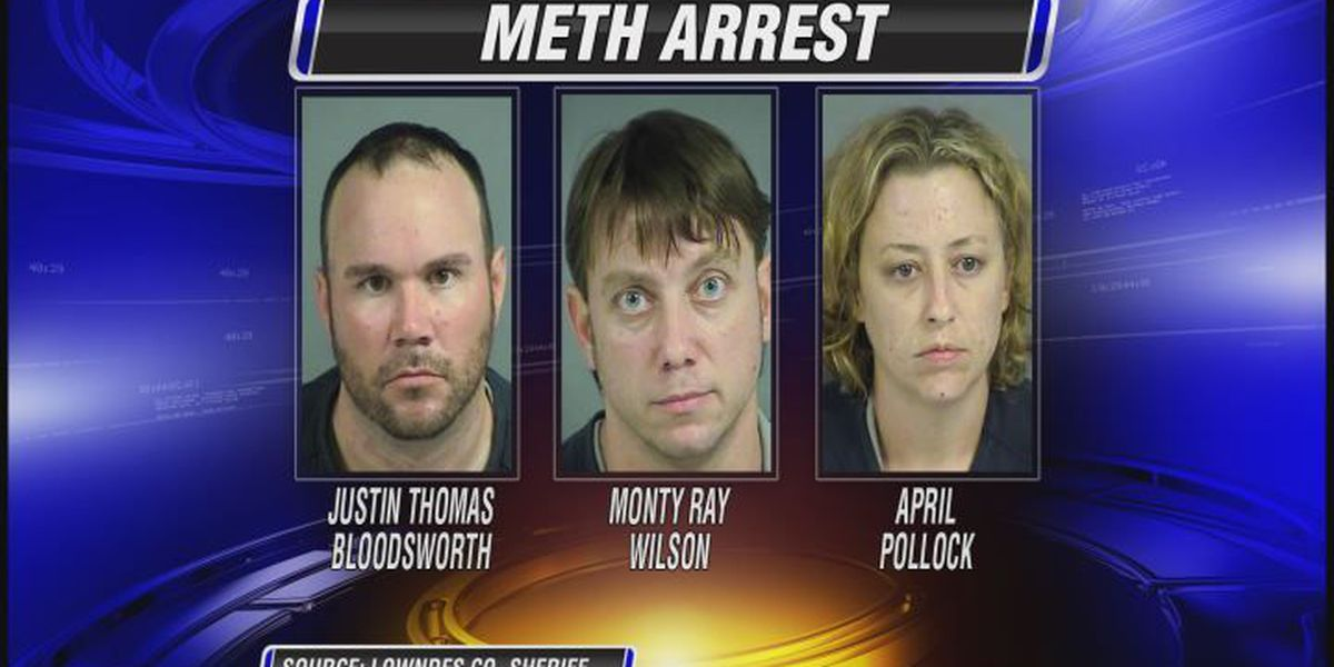 Lowndes Sheriff's Office makes two meth busts in one night