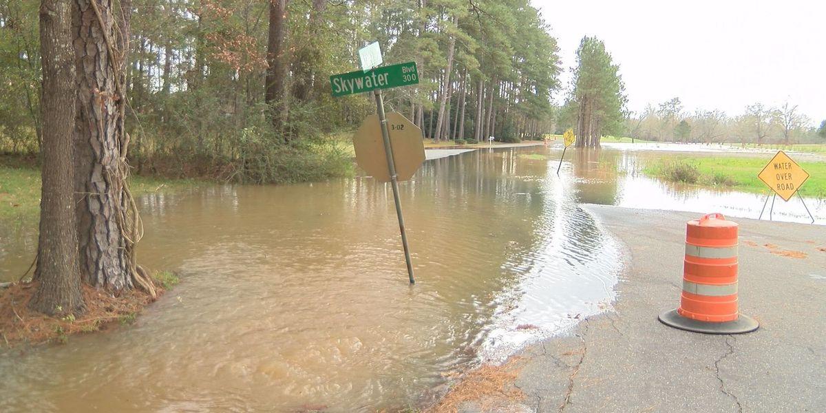 River water threatens Radium Springs area