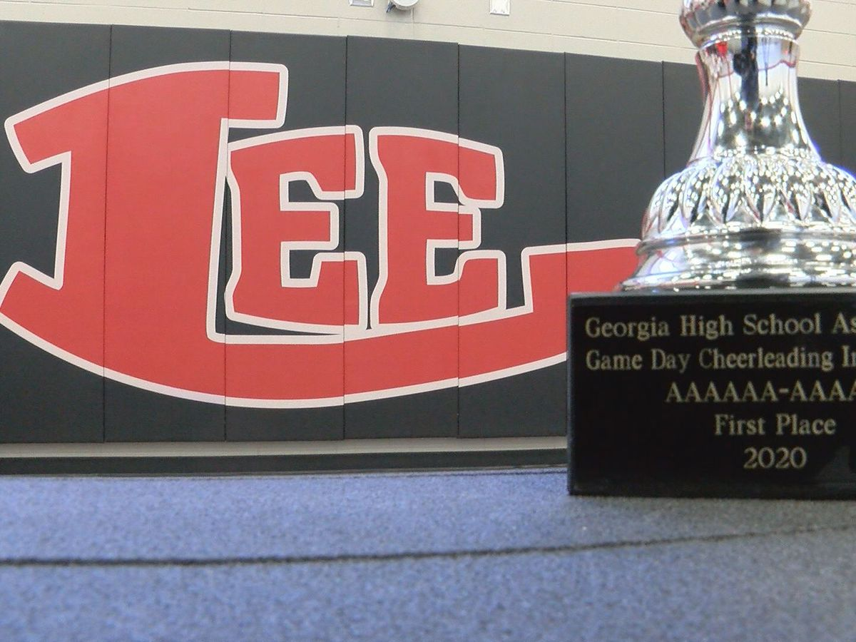 Lee County Cheer takes home state title