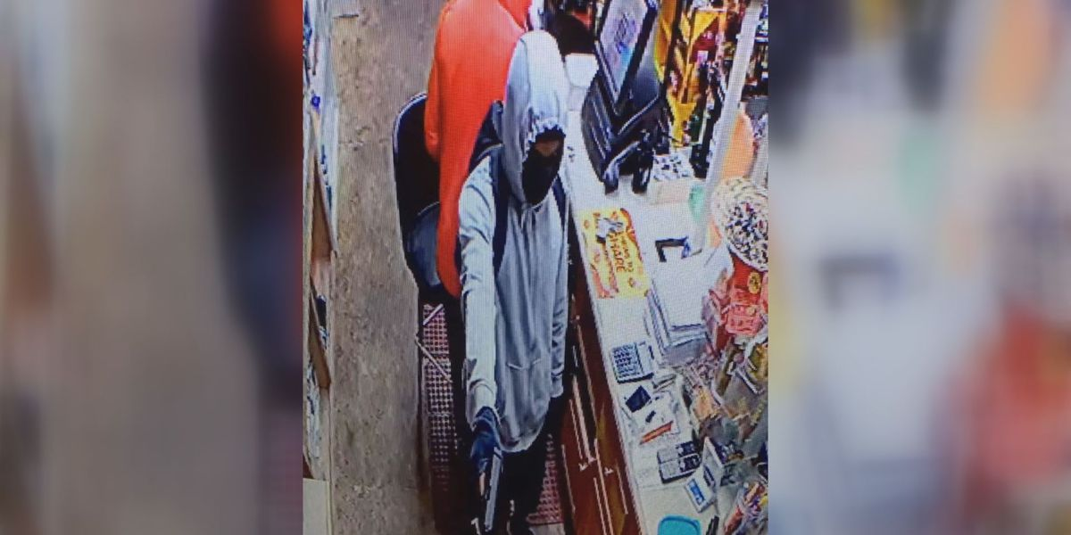 Hahira police searching for gas station armed robbers