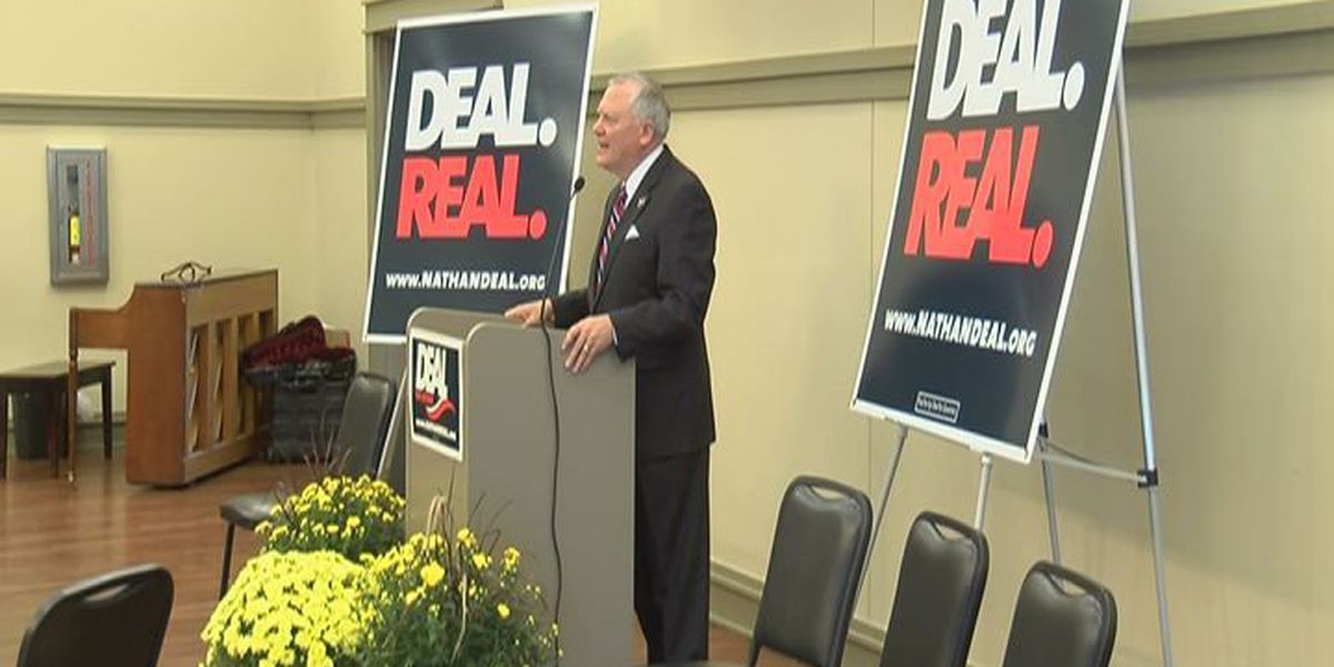 Deal campaigns in Albany, highlights education