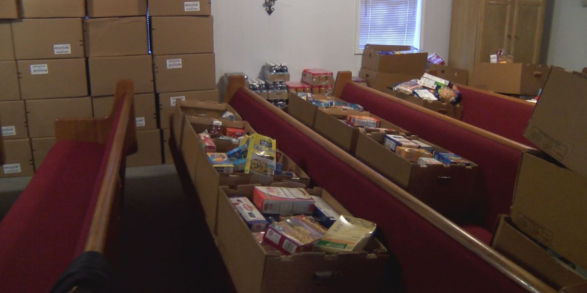 Albany church hosts 20th annual food giveaway