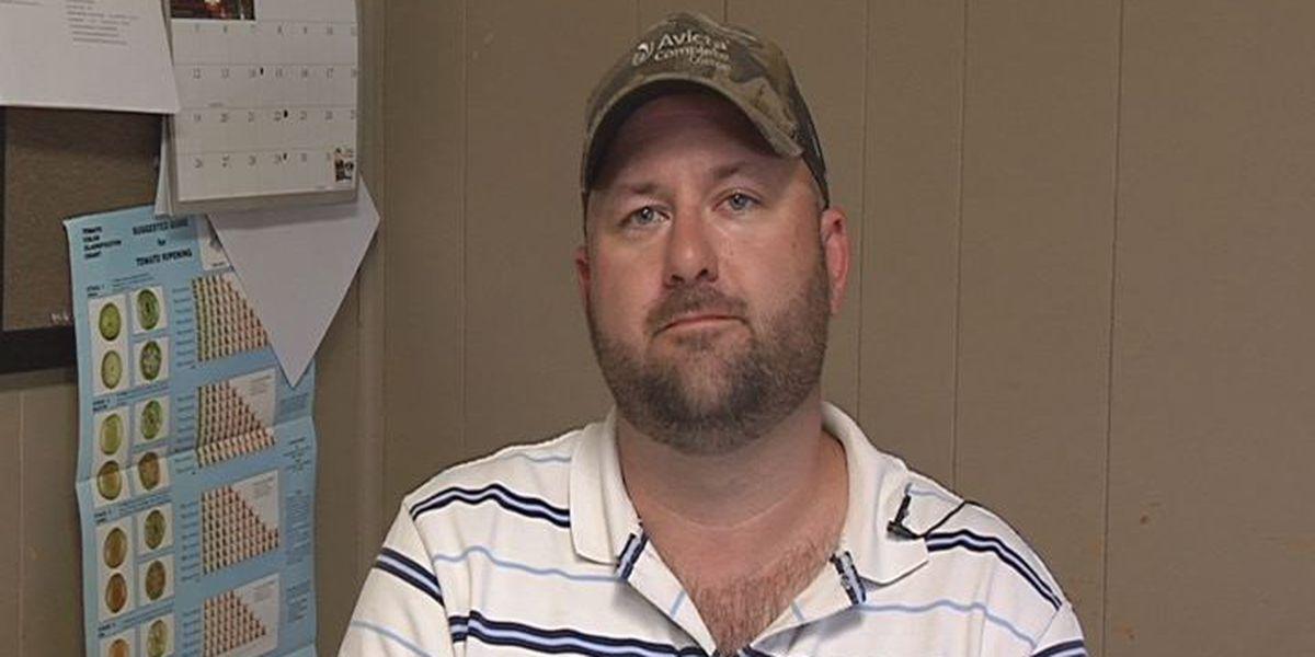 Stolen farm chemicals hurt small business
