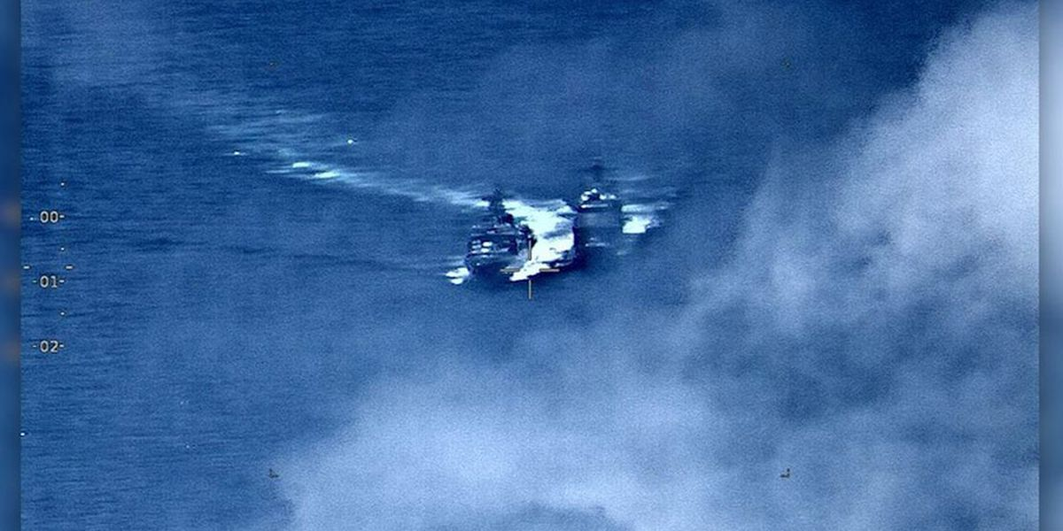 Navy reports near-collision with Russian ship
