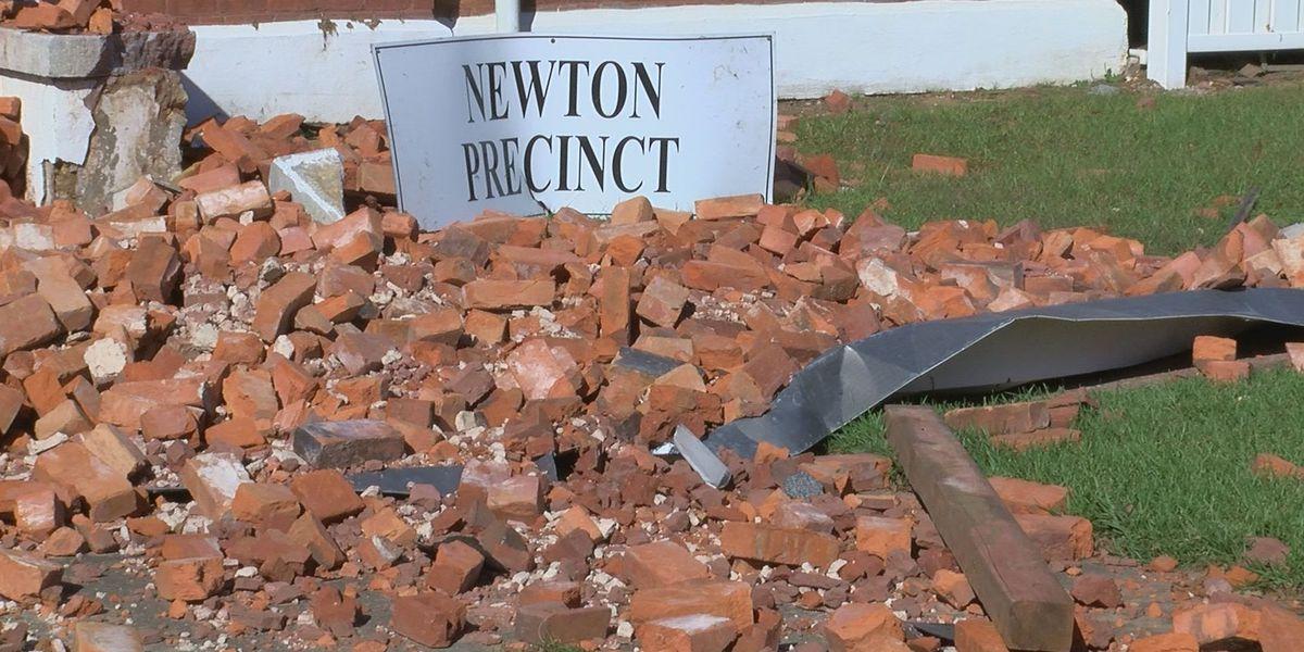 Baker Co. voting precinct destroyed during Hurricane Michael