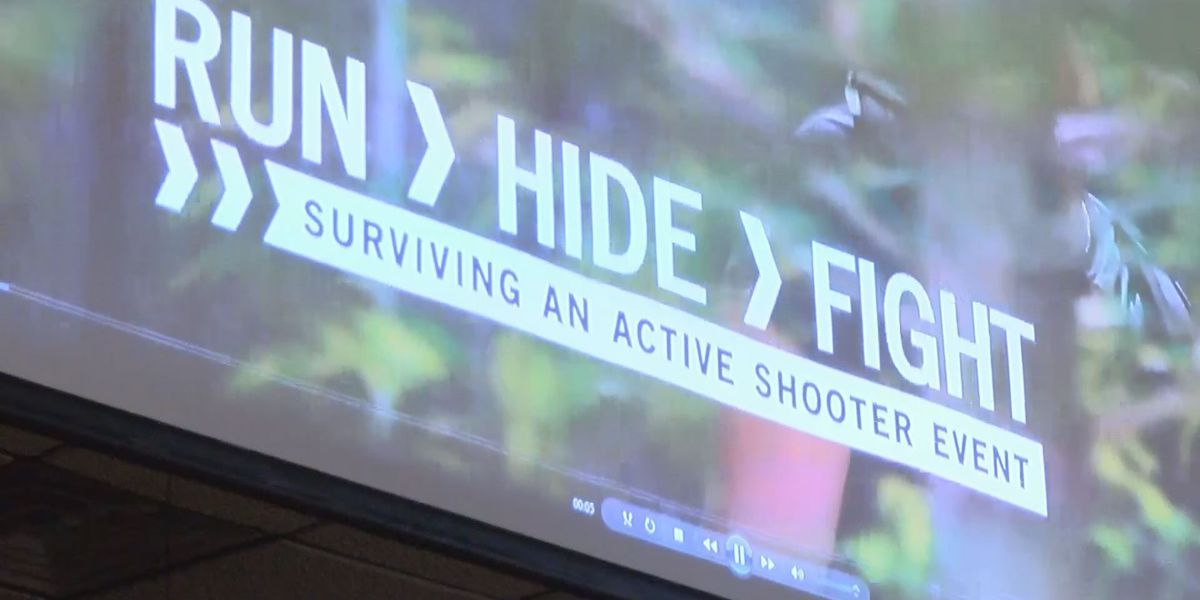 Americus residents and church leaders get active shooter training
