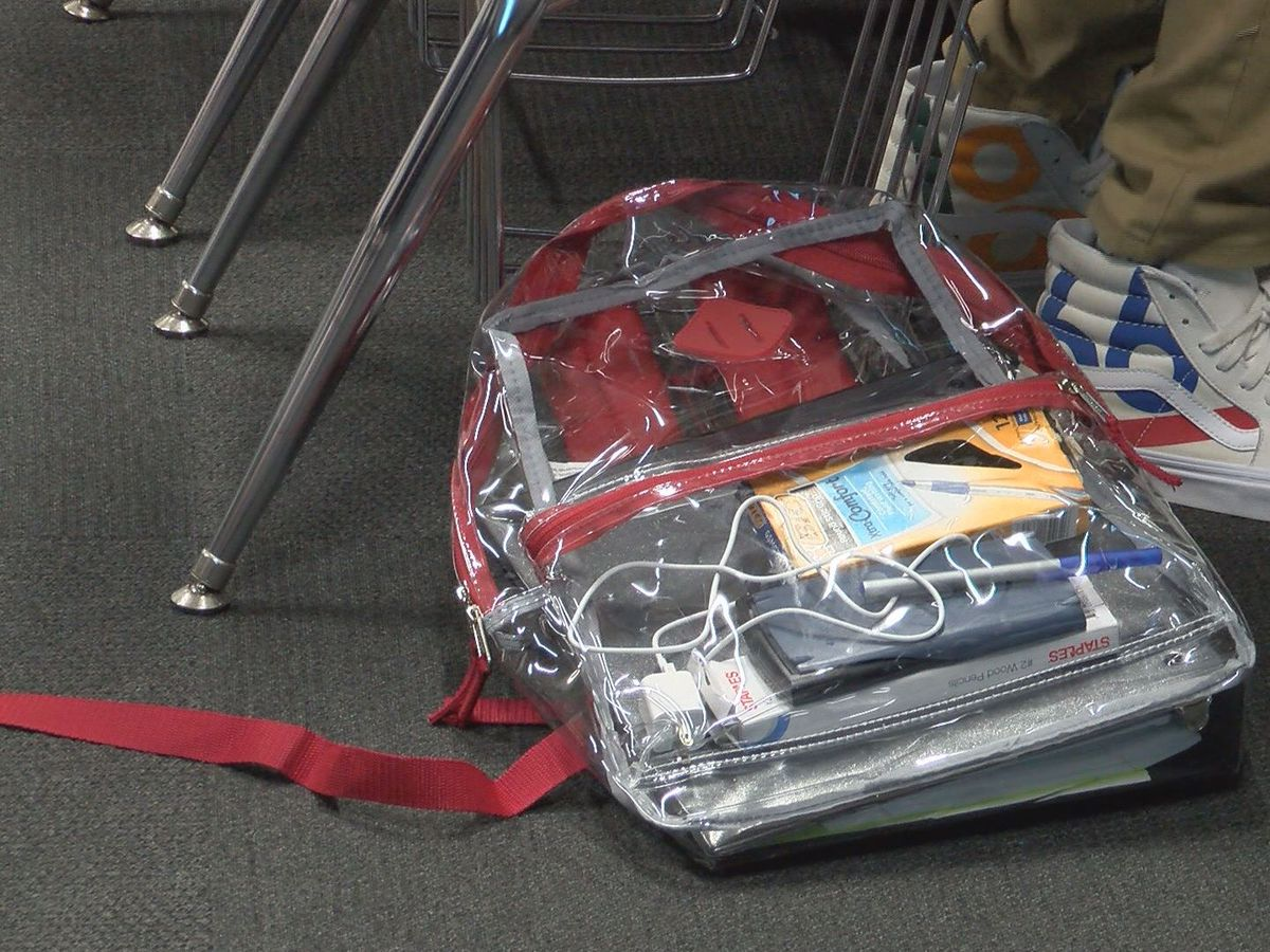 Clear backpack policy back for another year in Lee County