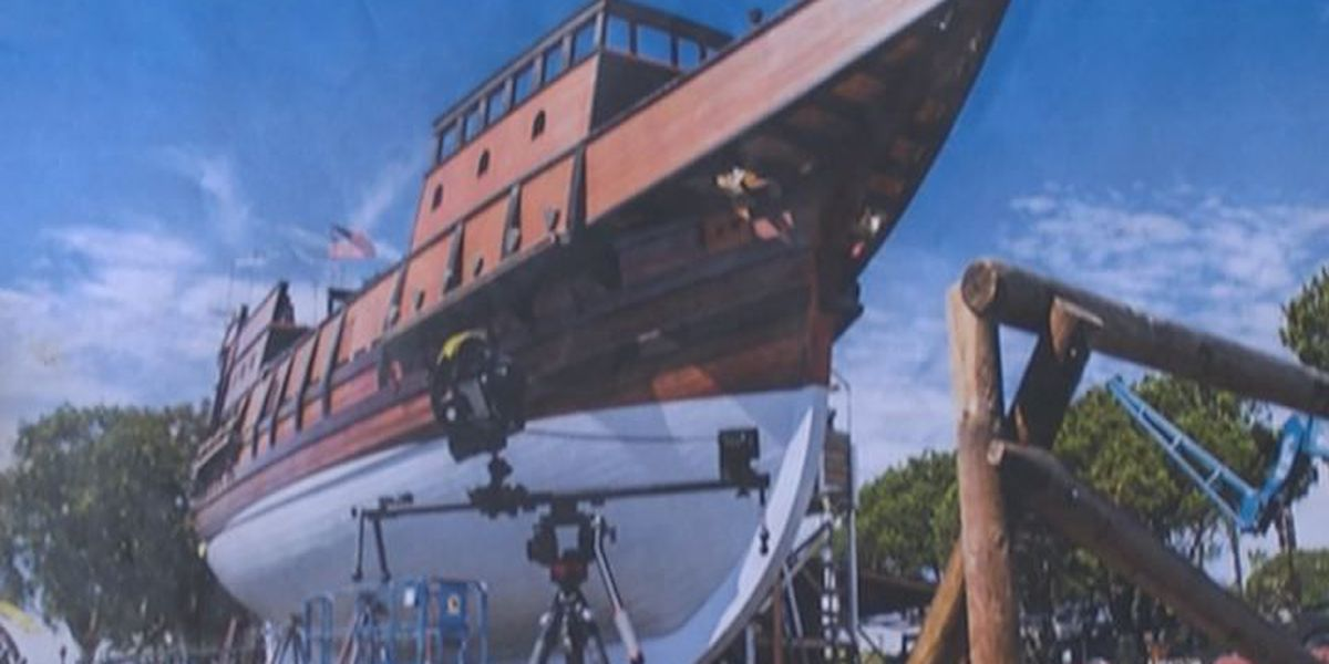 Saw mill owner helps re-create San Salvador Ship