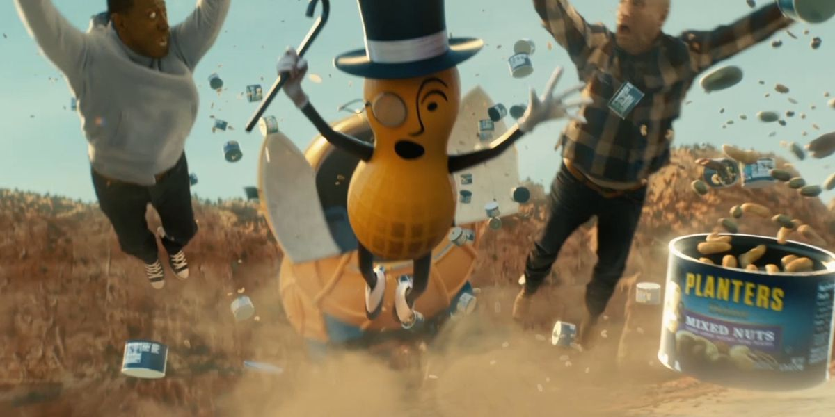 Mr. Peanut ad campaign on hold after Kobe Bryant's death