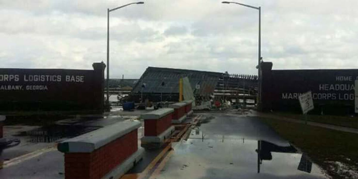 MCLB officials give damage update