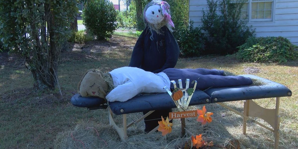 Ashburn hosts annual scarecrow contest