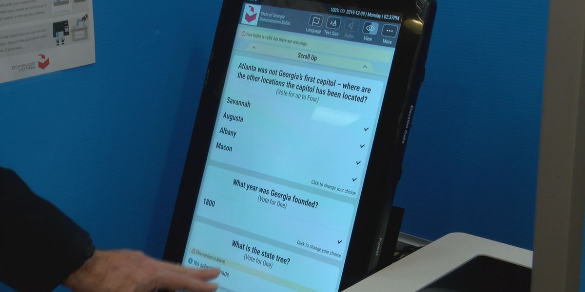 Bryan, Liberty County voters try out new machines