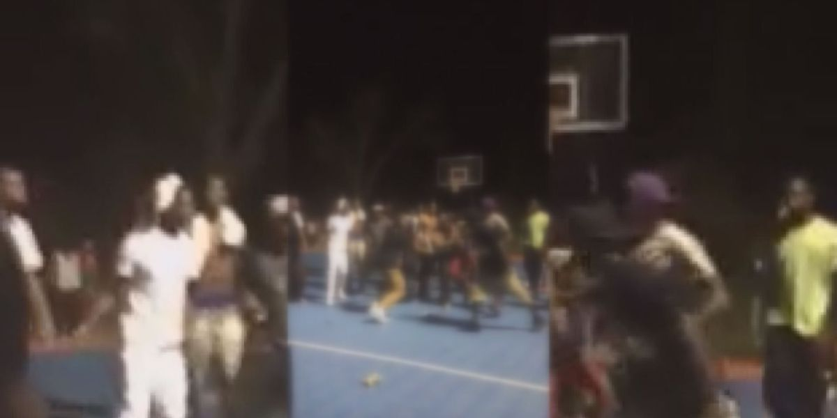 Five arrested after beating at Ashburn basketball court