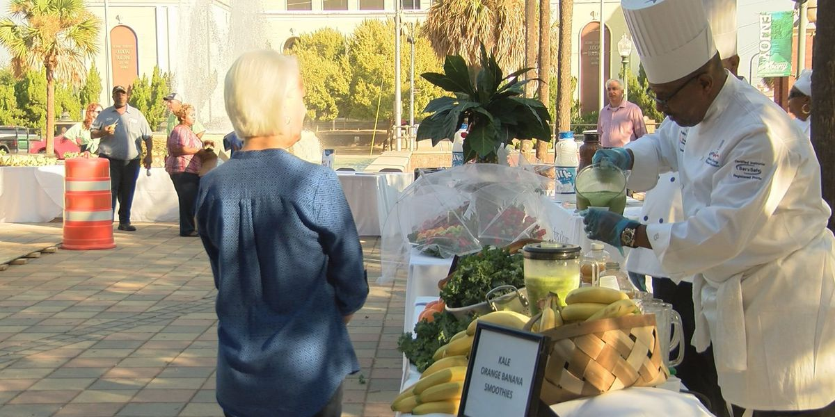 DCSS hosts chefs on the lawn event