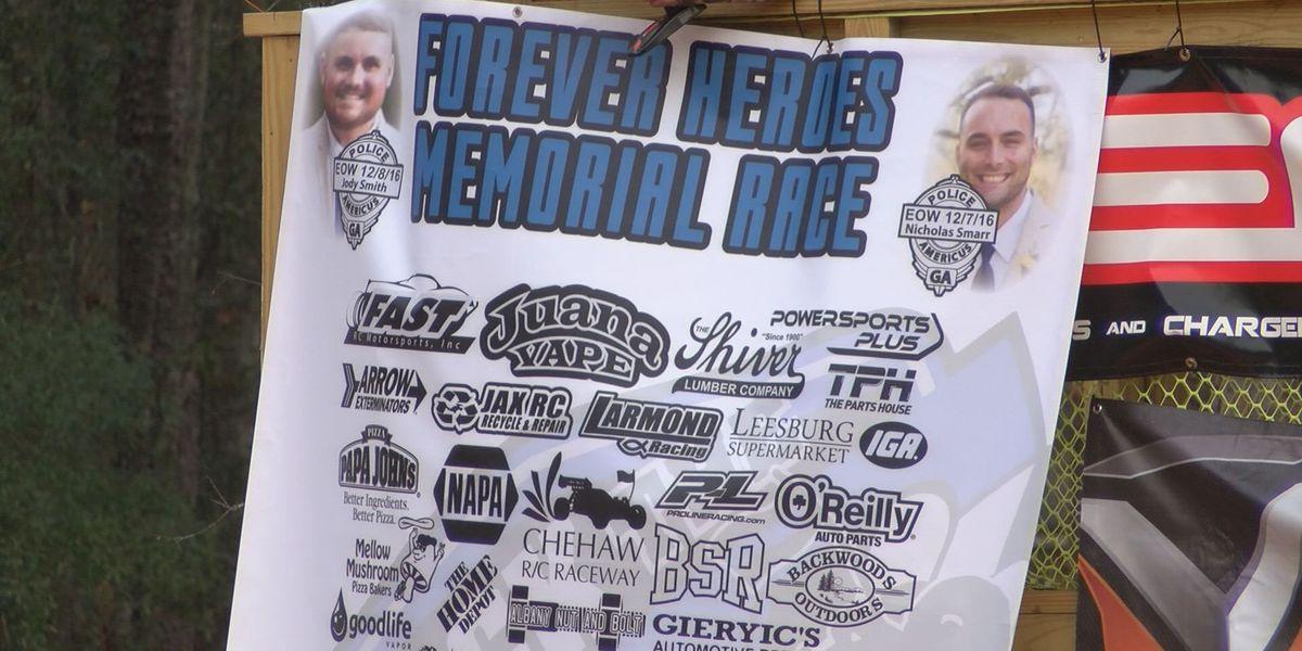 'Forever Heroes Memorial Race' honors fallen officers