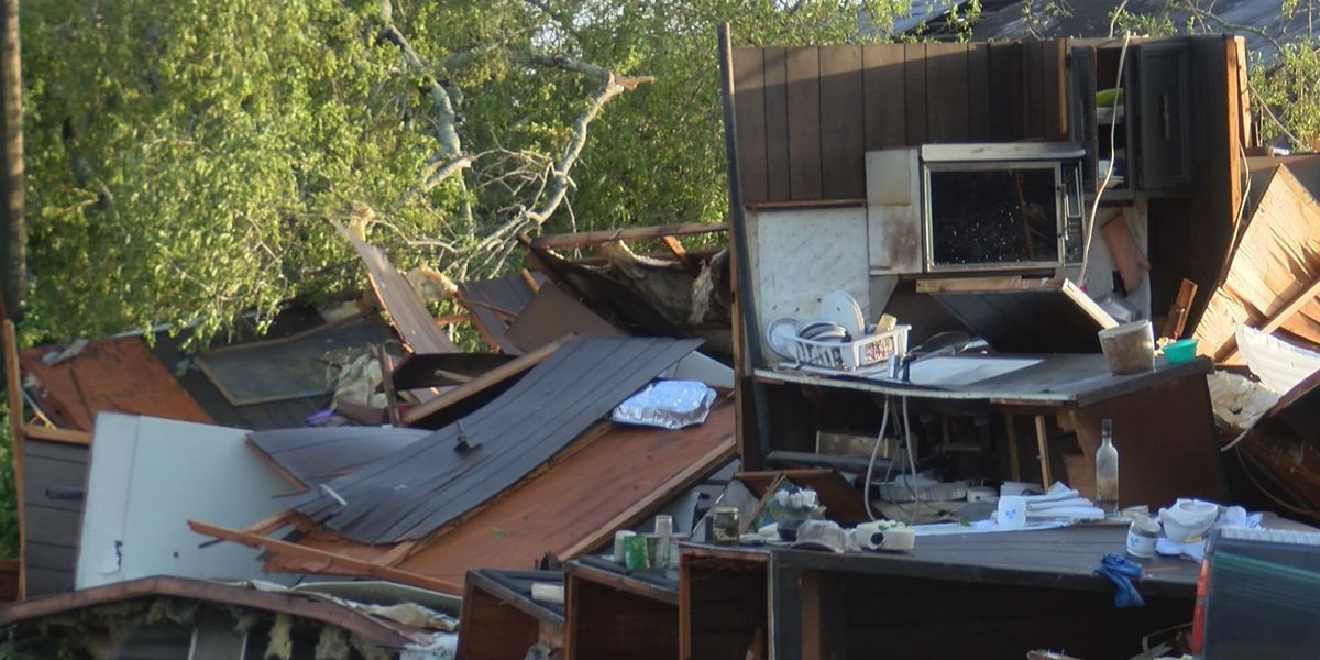 Four Stewart County homes damaged by severe weather