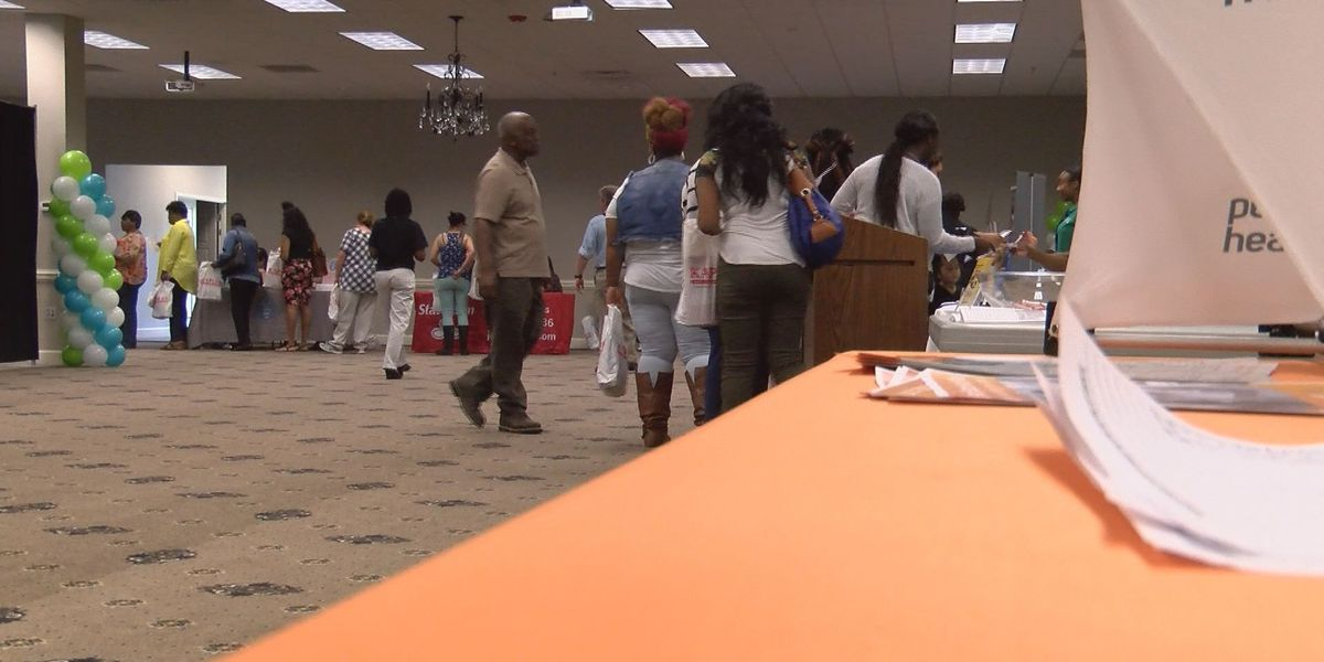 Parents attend health and community resource fair