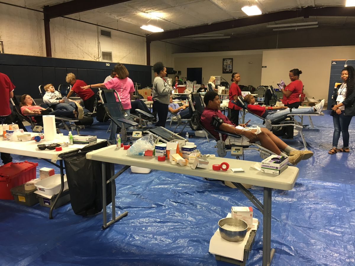 Tifton Co. students donate blood after nationwide shortage