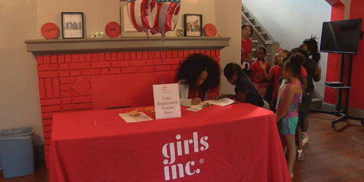 Girls Inc. holds mock election