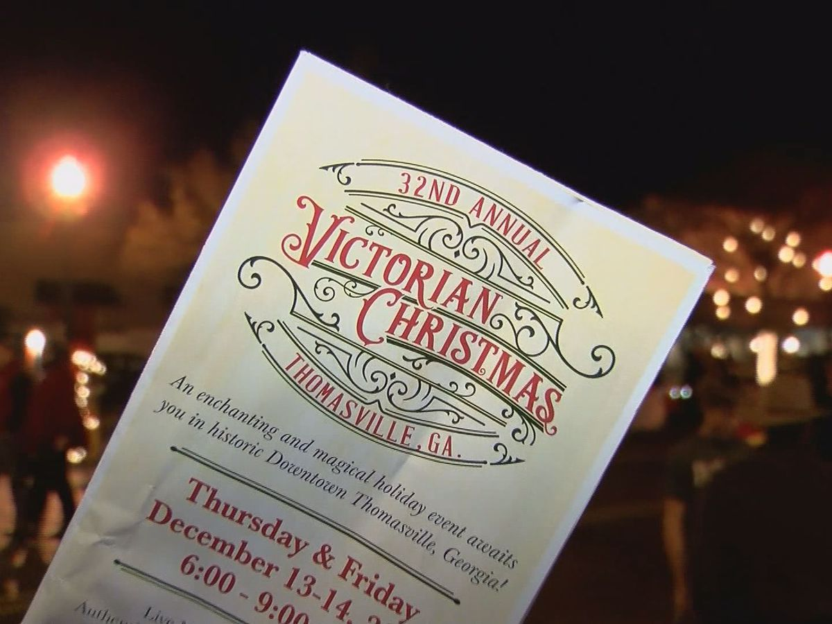 Thomasville celebrates the holidays with a Victorian Christmas