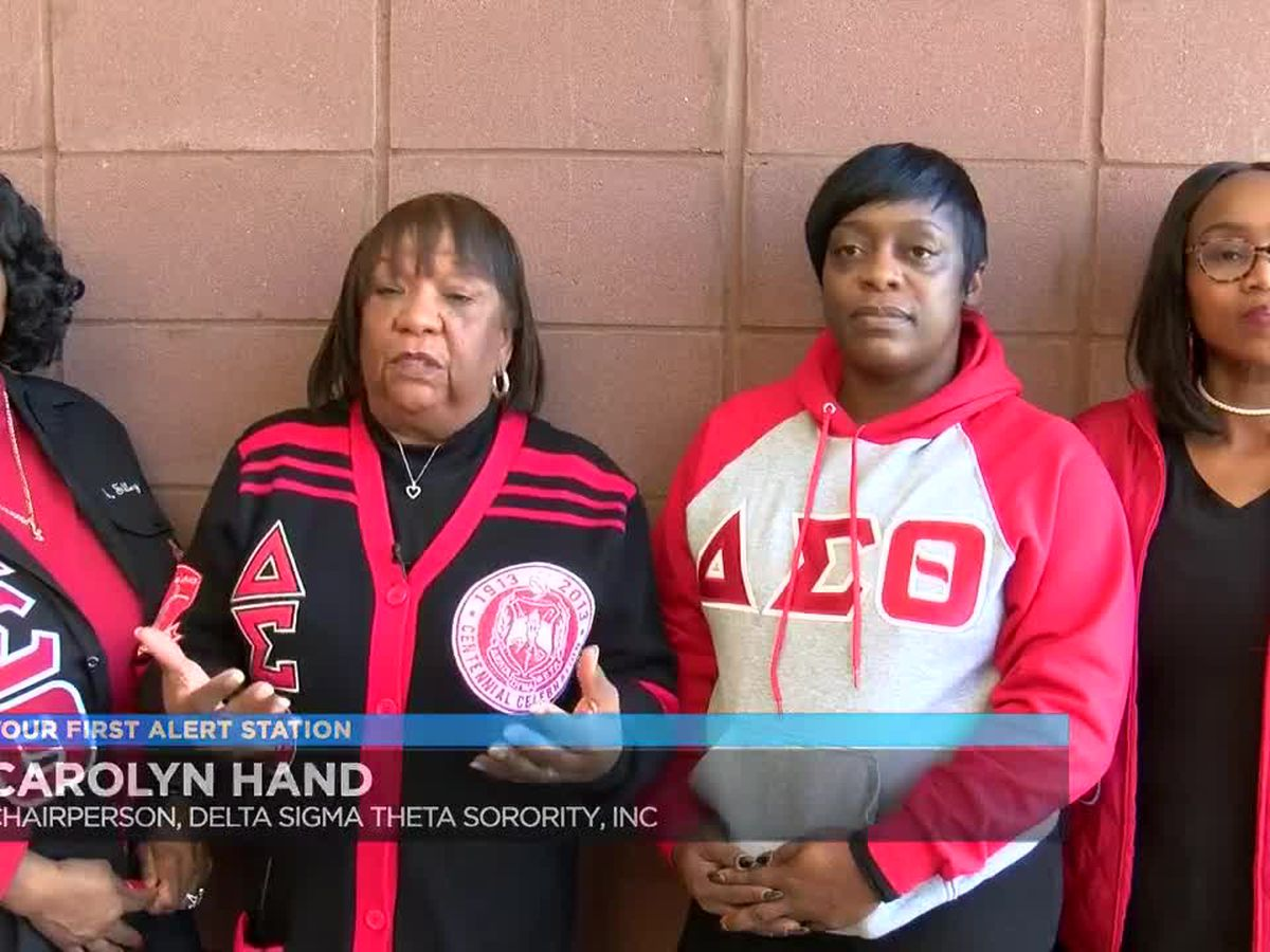 Sorority hosts clothing and food drive on MLK Day