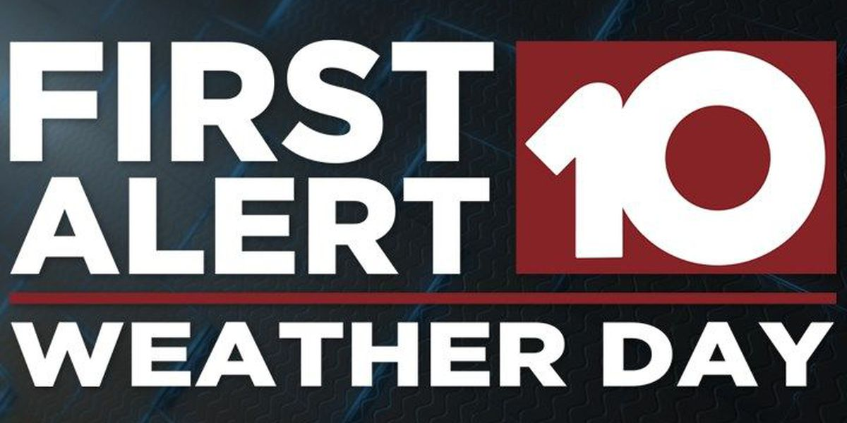First Alert Weather Day issued for Wednesday