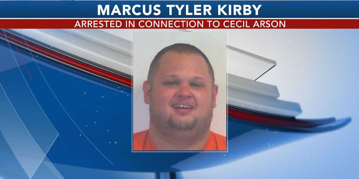 Man arrested in Cecil arson case