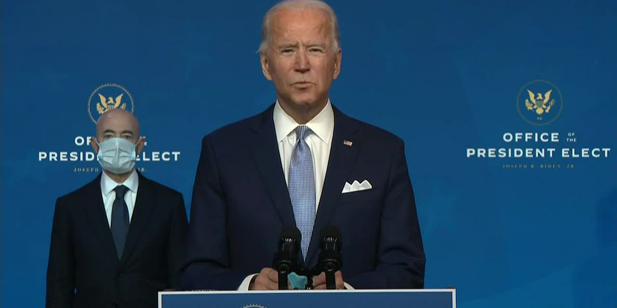 Biden introduces his foreign policy team as federal agencies begin transition conversations