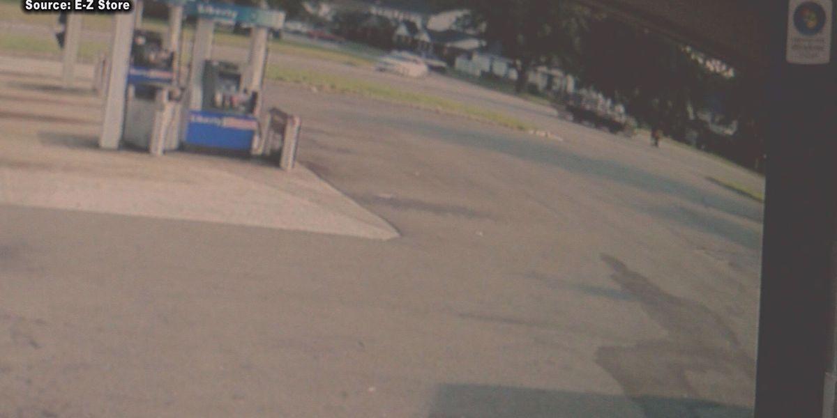 Child remains in hospital after Sylvester crash, surveillance footage released