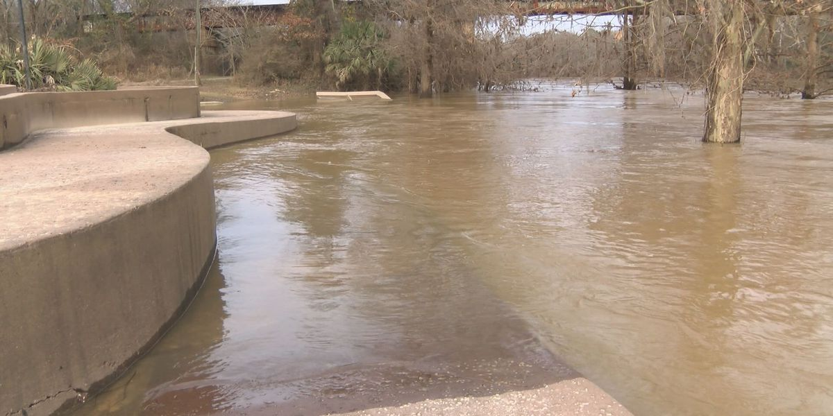 River and creek levels expected to rise