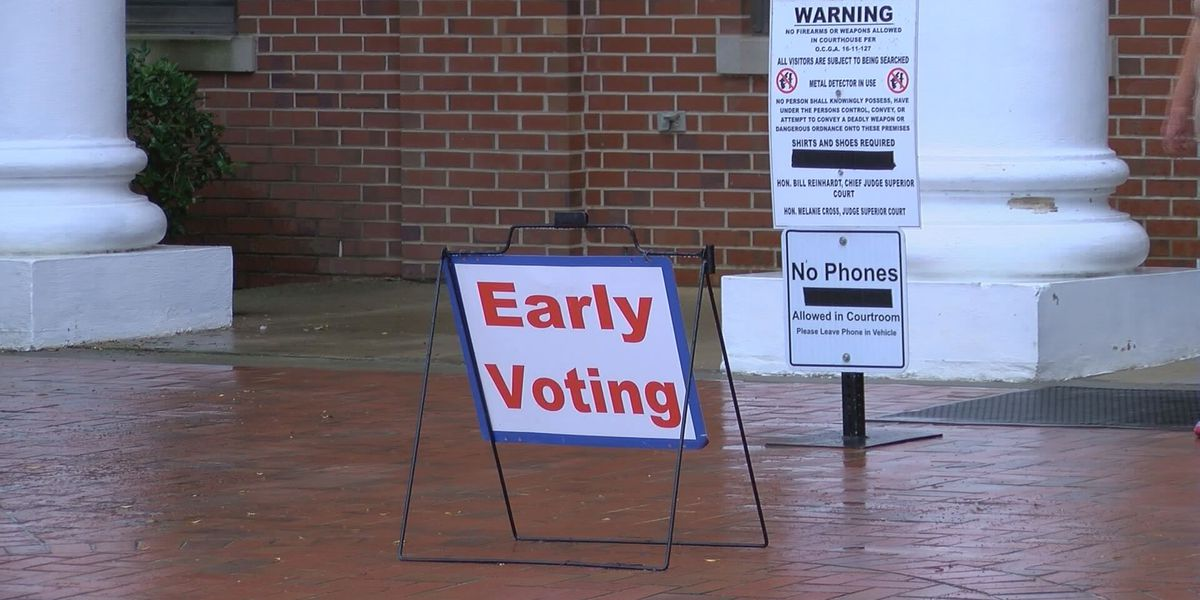 Worth Co. early voting numbers are in for the District 152 runoff elections