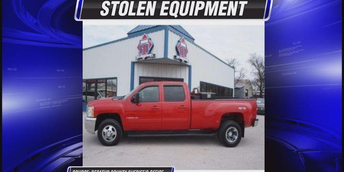 Trucks, trailer stolen in Decatur Co.