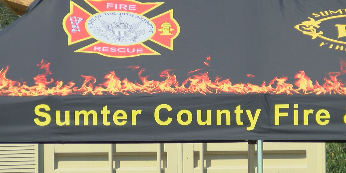 Sumter County's new fire chief host first annual open house