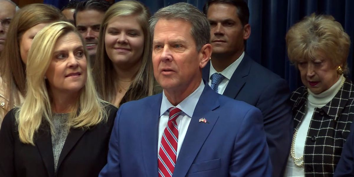 WATCH LIVE: Gov. Kemp delivers State of the State Address