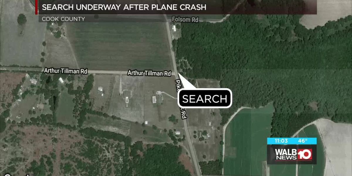Cook Co. plane crash investigation, search for pilot underway