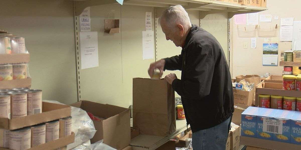"""Food donations """"slightly"""" up since storms, more needed"""