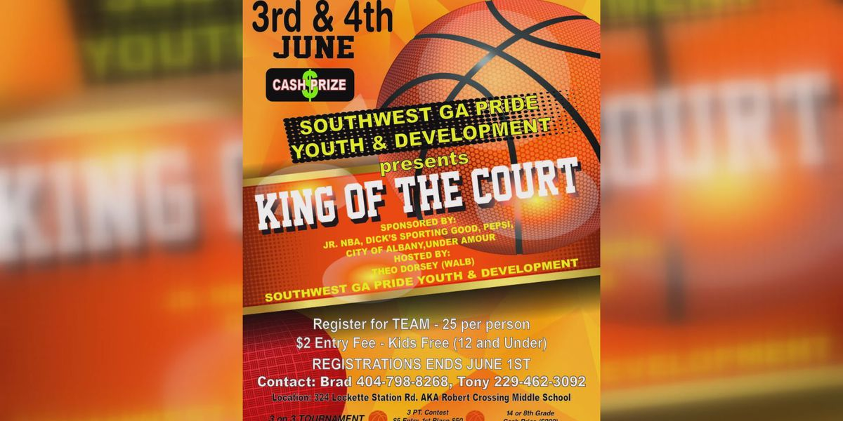 Teams wanted for 3 on 3 King of the court tournament