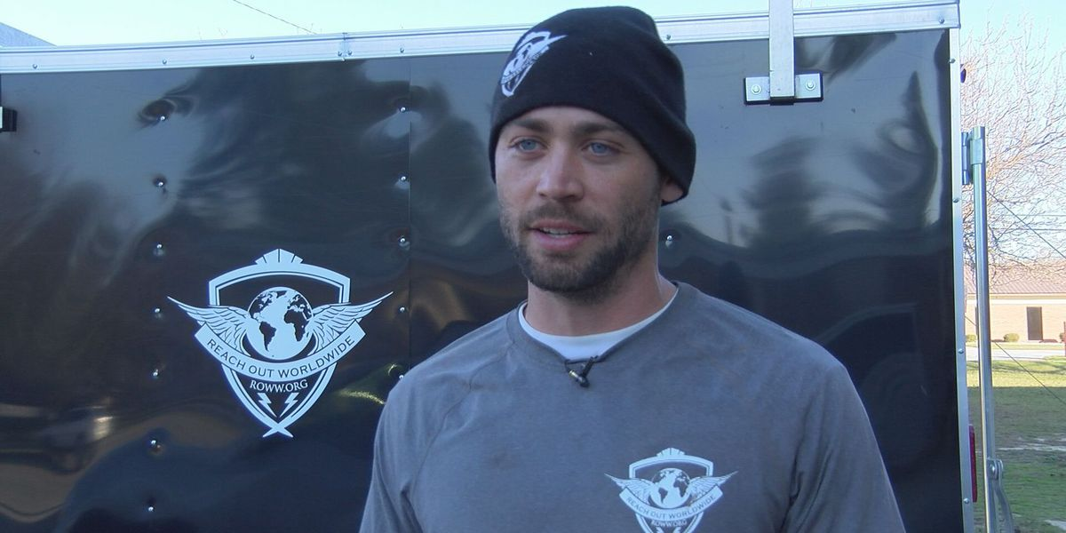Late actor Paul Walker's youngest brother in Albany to help with storm cleanup