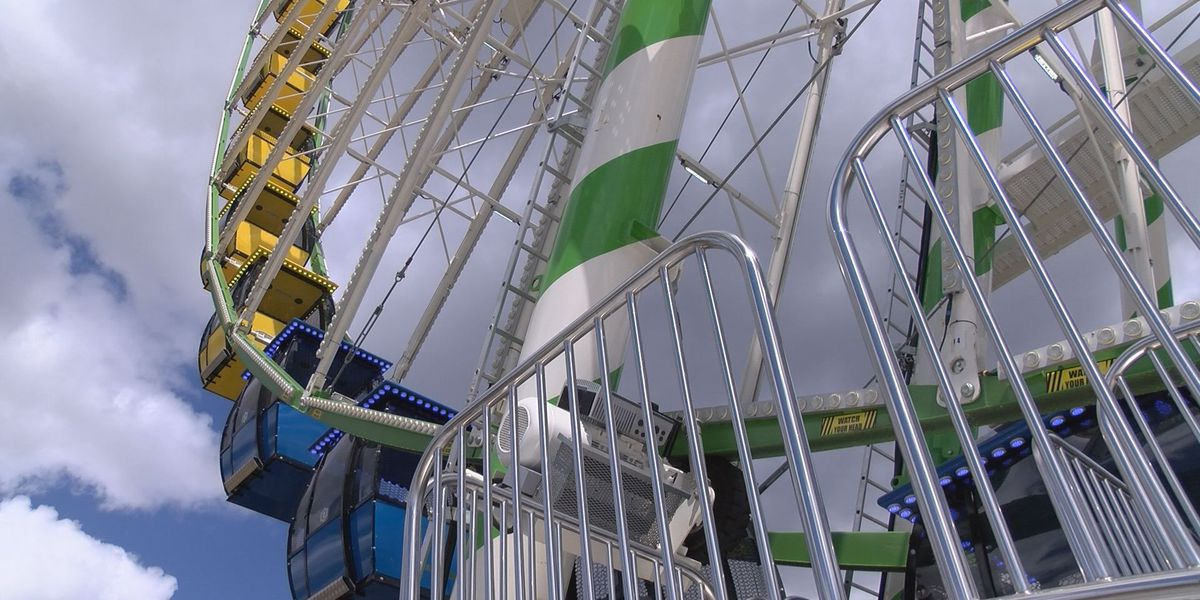 Ride North America's largest traveling Ferris wheel in Perry