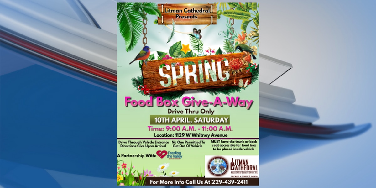 Litman Cathedral in Albany prepares for April food giveaway