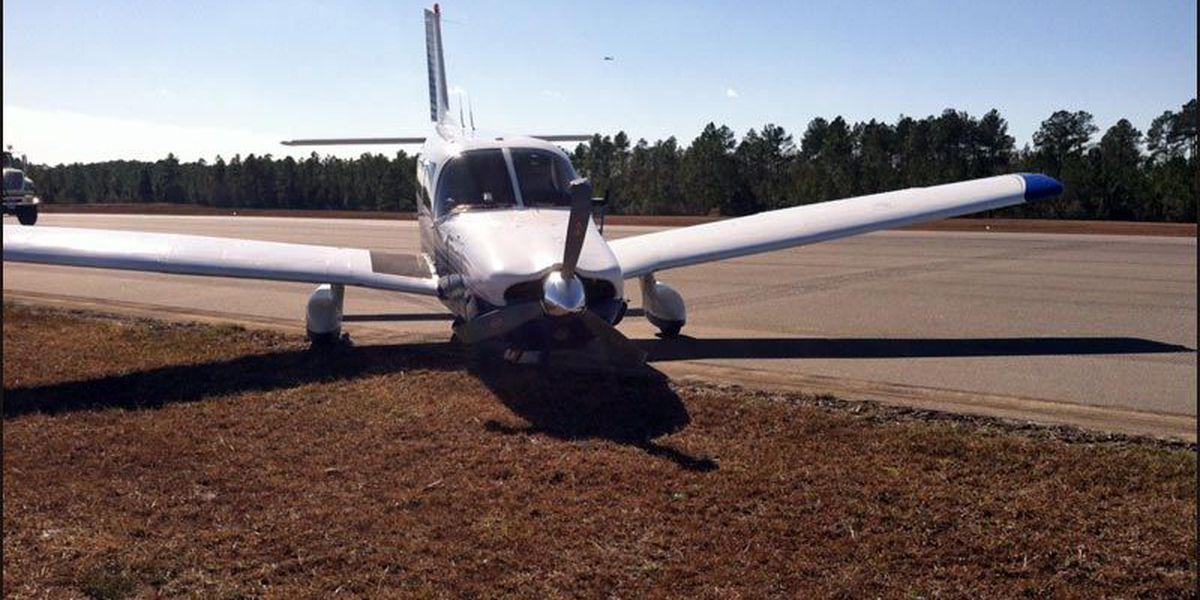 Plane makes hard landing at Valdosta Regional Airport