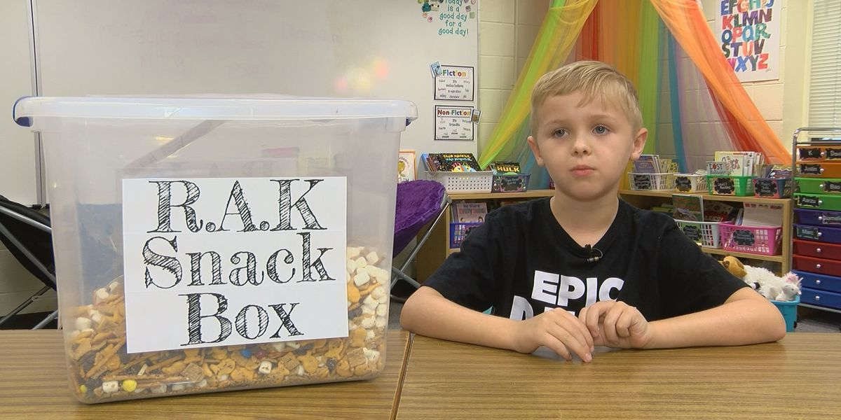 Kids sharing acts of kindness take over South GA school
