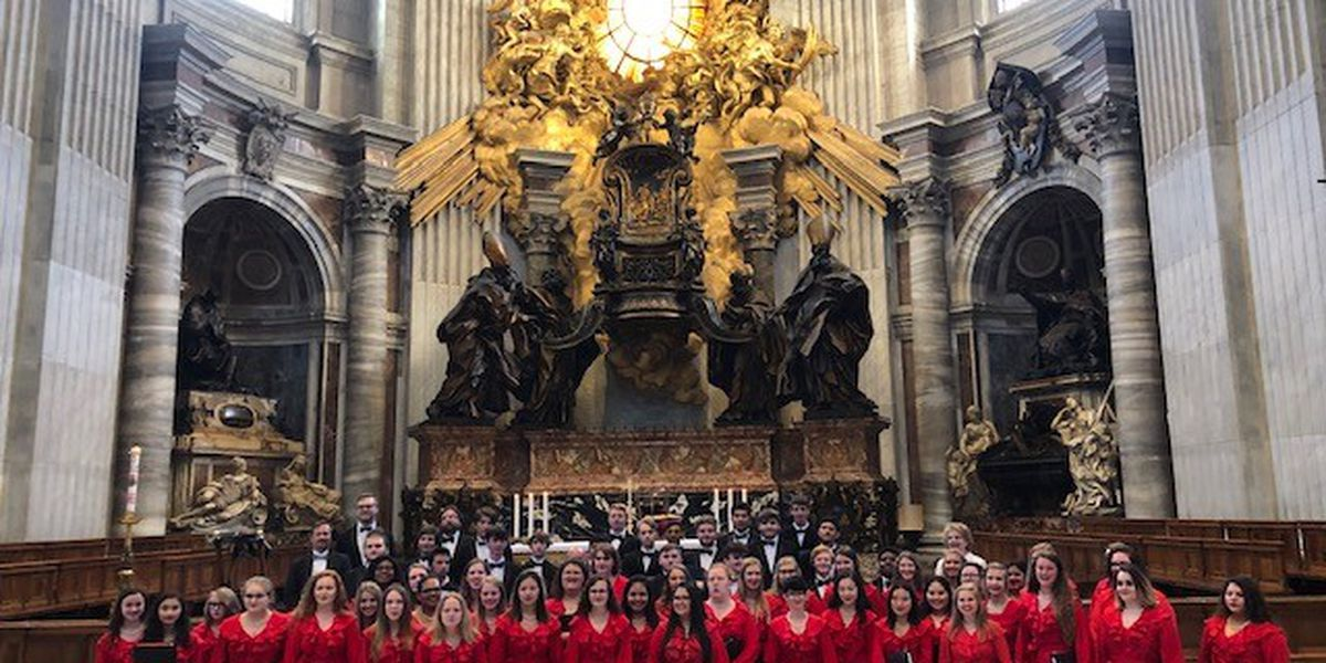 Colquitt Co. choir sings at the Vatican