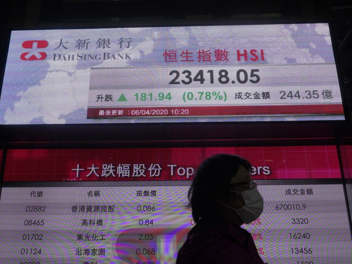 Shares rebound on signs of progress in battling coronavirus