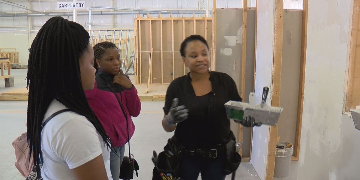 Construction field attracting interest from young female students