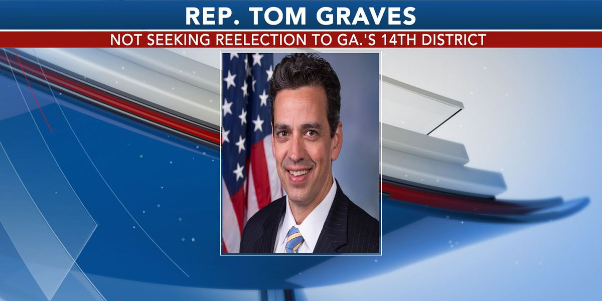 Rep. Tom Graves not seeking reelection to Ga.'s 14th District